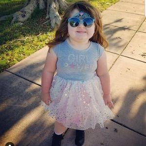 "Adorable Lilt ""Girl Power"" Star Tutu Dress"